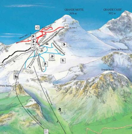 Summer in Val dIsere Ski Snowboard Resort