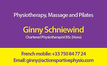 Physiotherapy and Massage in Vald'Isere